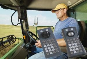 trackball og tastatur til landbrug