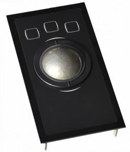 50 mm trackball i folietastatur med 3 taster