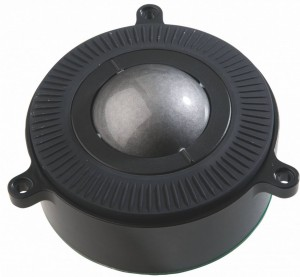 3 akset trackball med scroll og zoom